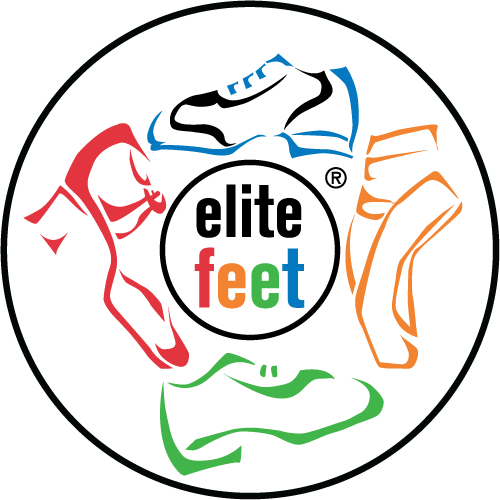 elite feet dance studio logo