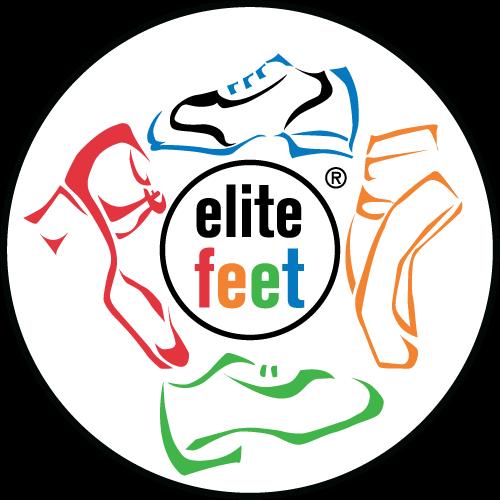 elite feet dance studio logo