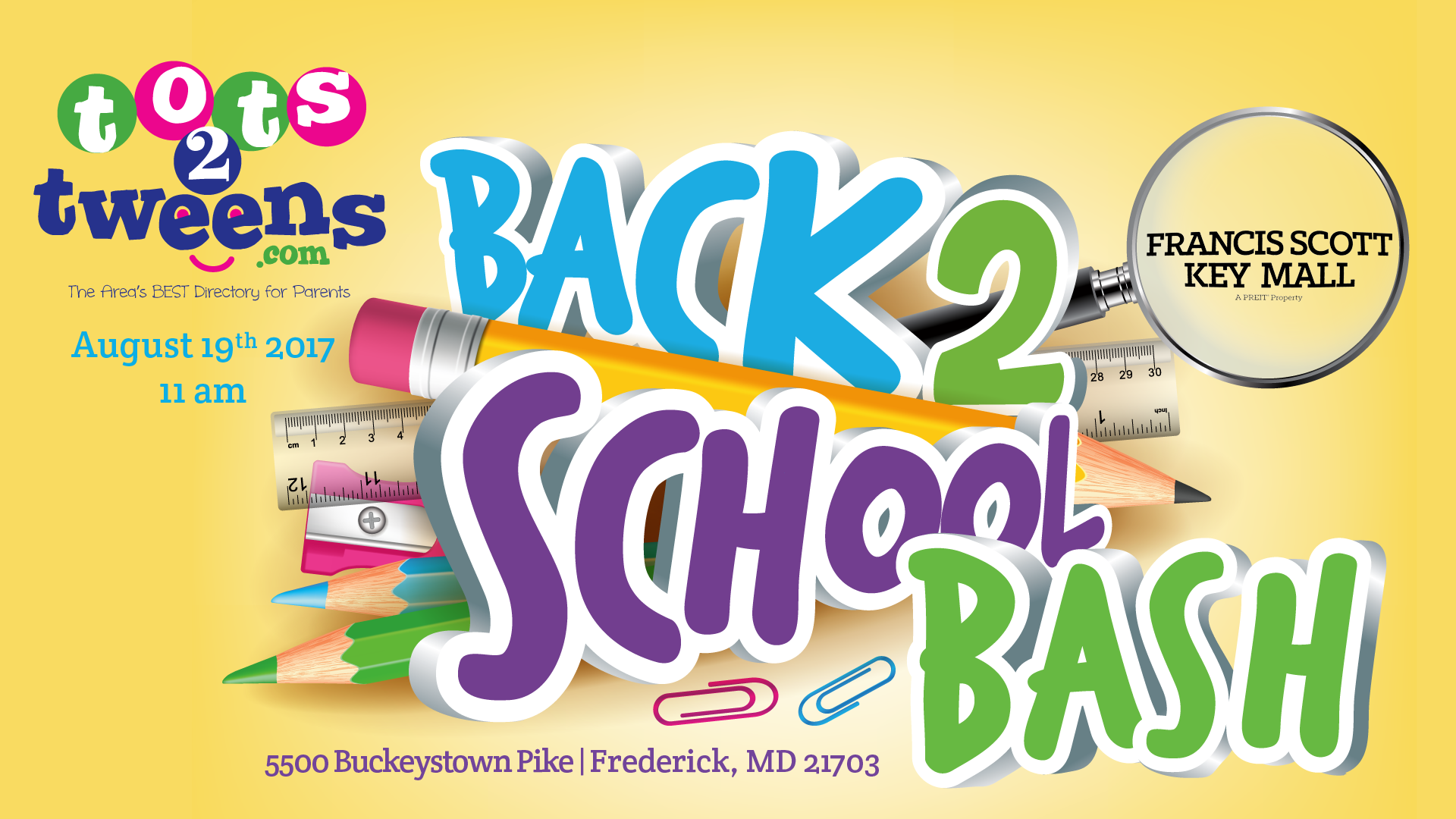 tots 2 tweens back to school event