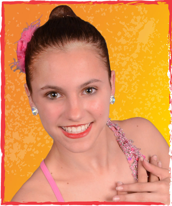 teen program teenage girl ballet dancer smiling