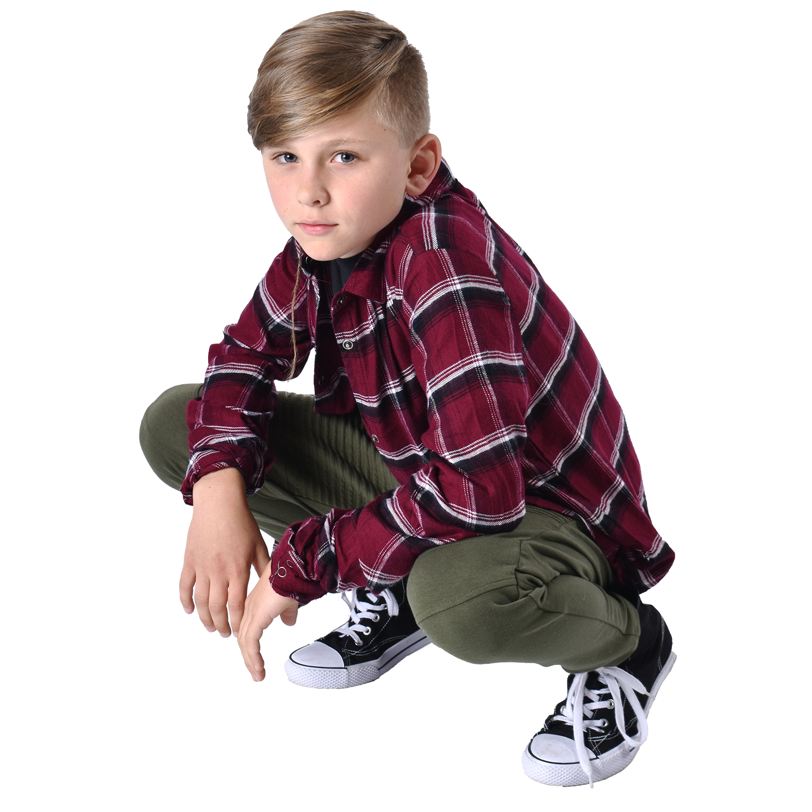boy hip hop dancer in pose