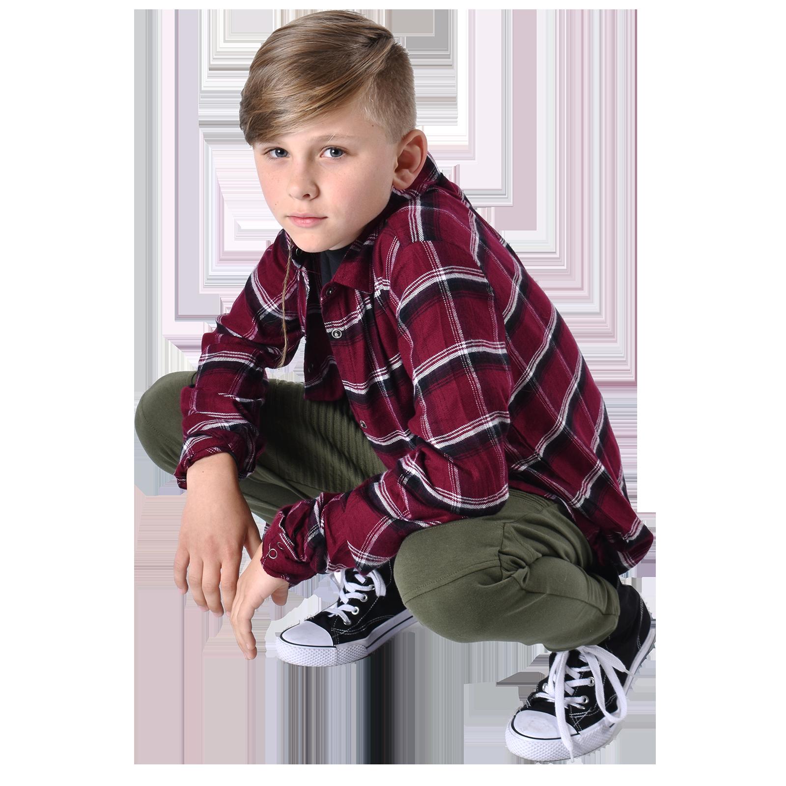 boy hip hop dancer in pose